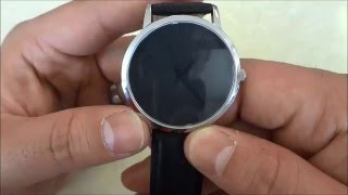 Gaxs Aston Watch Review-Black Dial With Stainless Steel Case And Leather Strap