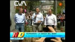 Canal 12 - Noticiero Doce - El Baile de MACRI