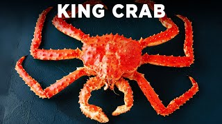 KING CRAB WITH SEASONED BUTTER