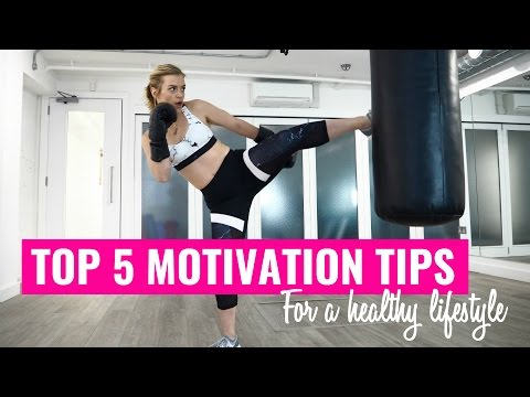 5 TIPS TO STAY MOTIVATED | FITNESS & HEALTHY EATING ad