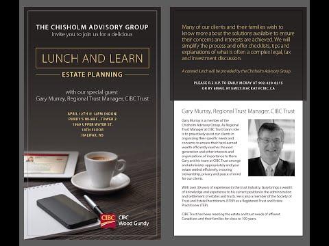 Chisholm Advisory Group Estate Planning Workshop