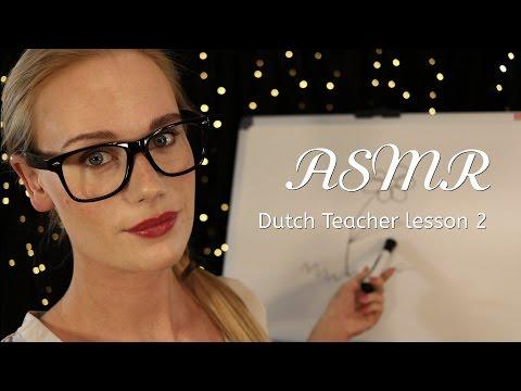 ASMR DUTCH TEACHER LESSON 2 (Soft spoken/whisper)