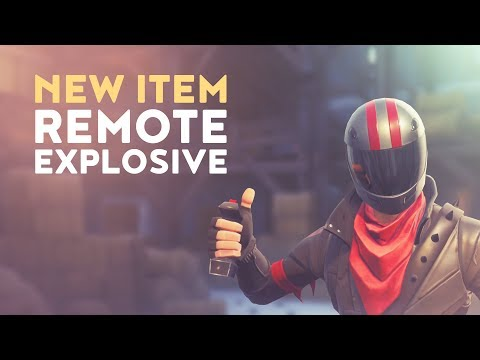 NEW ITEM: REMOTE EXPLOSIVE (Fortnite Battle Royale)