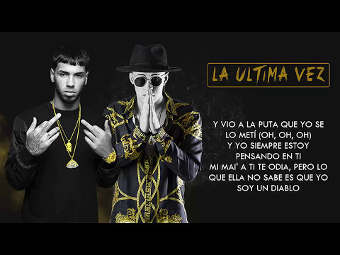 La �ltima Vez - Anuel AA ft. Bad Bunny | Video Letra 2017