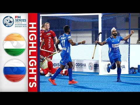 India V Russia | Men's FIH Series Finals | Match 3 Highlights
