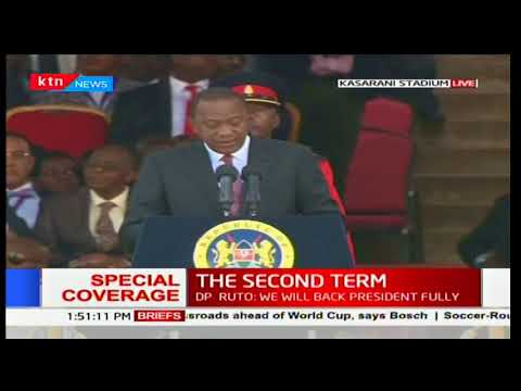 Uhuru Kenyatta mentions unity as path to a better future in his speech