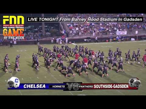 Chelsea at Southside Gadsden High School Football