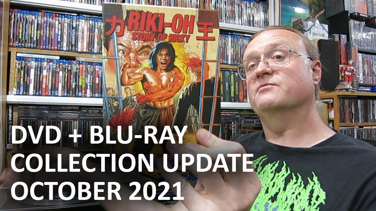 Download DVD / BLU-RAY Collection Update - October 2021 (Horror / Action / Sci-Fi)