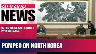U.S. making progress it needs with North Korea: Pompeo