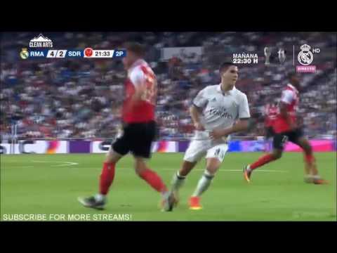 Álvaro Tejero VS Stade Reims (Trofeo Bernabéu 2016)