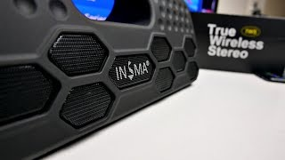 INSMA Wireless Bluetooth Boombox 40W Speaker (TWS) True Wireless Stereo  Sound
