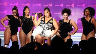 "Download Lizzo performs ""Juice"" at the 30th Annual GLAAD Media Awards Mp3 and Videos"