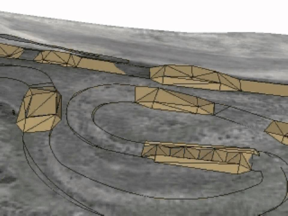 MX track design and construction - YouTube