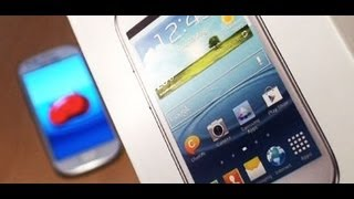 Samsung Galaxy S3 MINI Unboxing / Setup / First Look