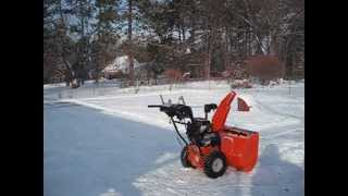 New Ariens Deluxe 28 Snow Blower With Auto Turn Review Model 921030