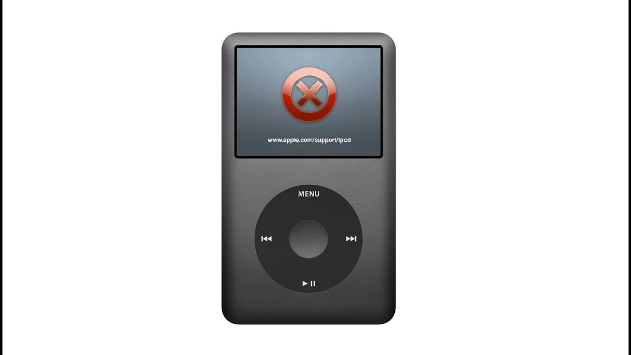 iPod Classic (120GB) Crash - YouTube