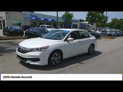 2016 Honda Accord Sedan LX Used P6988