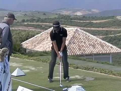 Martin Kaymer Golf Swing In Slow Motion Face On Youtube