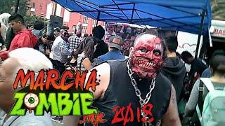 En la Marcha zombie 2018
