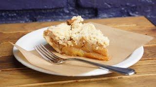 Apple Pie Crumble Ou Tarte Aux Pommes Crumble (us / Fr)