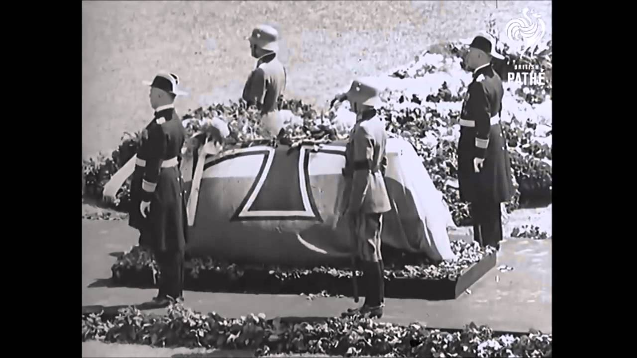 Funeral of General Ludendorff (1937)