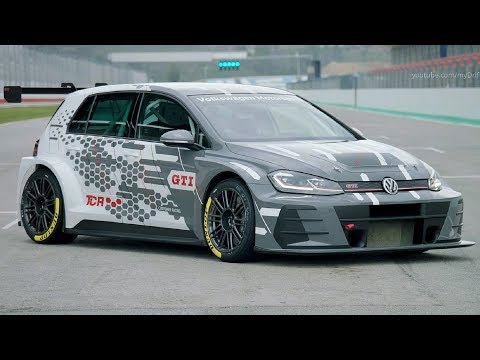 2019 VW Golf GTI TCR Racing Car - Wider Body And More Power
