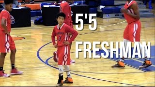 55 freshman yuki okubo plays high level varsity basketball confident youngster