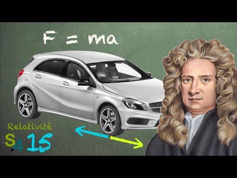 Les lois du mouvement de Newton | Relativité 15