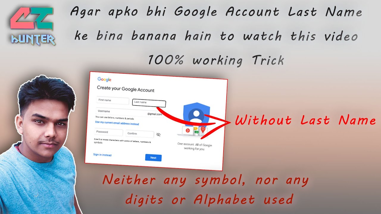 Youtube google account nickname Manage your