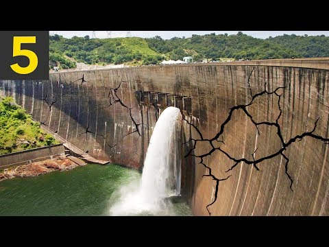 5 MOST DANGEROUS Dams - (don't live here)