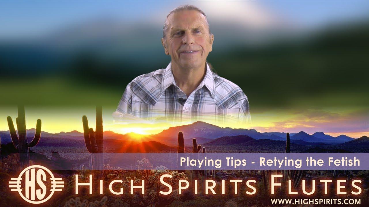 High Spirits Tutorials - Removing and Retying a High Spirits Flute Fetish
