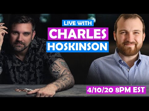 LIVE With Cardano's Charles Hoskinson