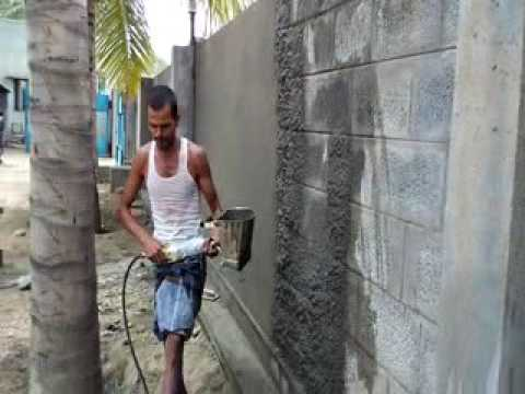 Wall Plastring Machine