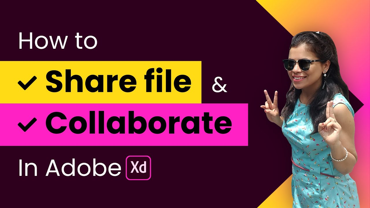 How to Share and Collaborate in Adobe XD