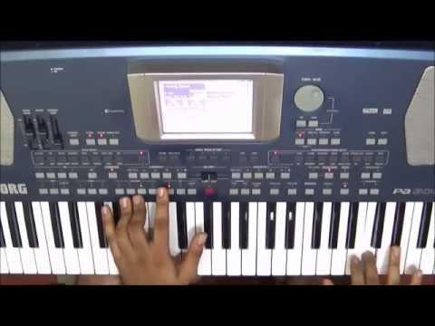 ambiga naa ninna nambide on keyboard