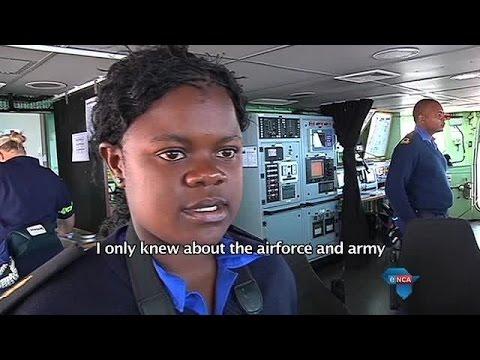 Women swell SA Navy ranks