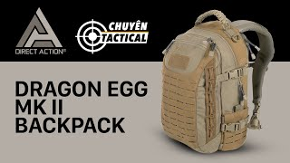 Review Siêu Phẩm Balo Direct Action Dragon Egg - Chuyentactical.com