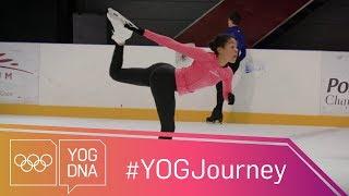 Figure Skating training with Olympian Stephane Lambiel #YOGjourney