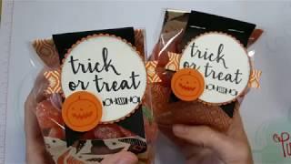 Fall for Holiday #3: Halloween Treat bag