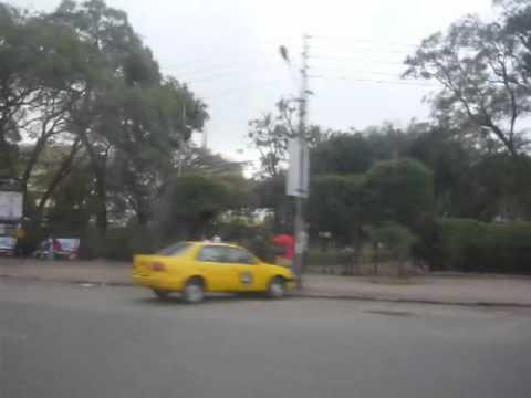 Driving in Nairobi