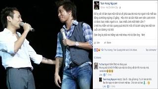 """Nghi án Tuấn Hưng viết status """"đá đểu"""" Duy Mạnh - Tin Tức Sao Việt"""