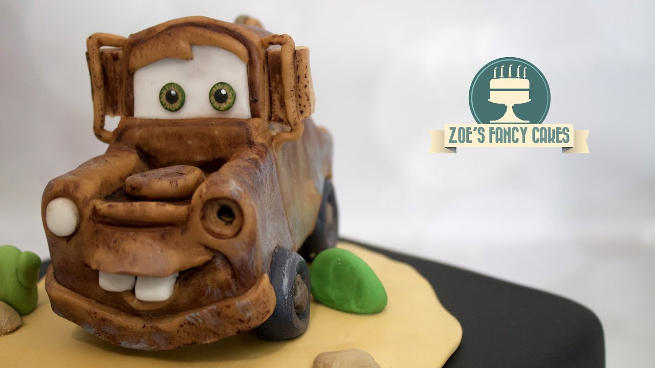 Disney S Cars Mater Cake Topper Rusty Truck Youtube
