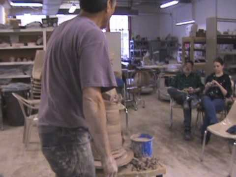 Omaha Clay Works throwing with Jeff Whyman, Jim leedy, Tom Harnack,