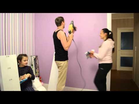 Как повесить полку на стену? IKEA