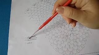 Как читать схемы вязания крючком/азы для начинающих/ Crochet