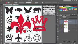 Illustrator tutorial: Creating and naming symbols | lynda.com