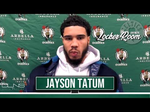 Jayson Tatum Postgame Interview | Celtics vs Pacers