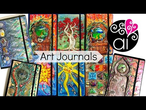 Art Journals Archidee | Cover in Pasta Polimerica su Quadern