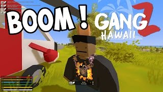 UNTURNED GangZ - New Map! New Friends! New Enemies! S5E01 (Hawaii Map Multiplayer PvP)