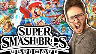 Je teste Super Smash Bros Ultimate sur Nintendo Switch (feat NicoWav)